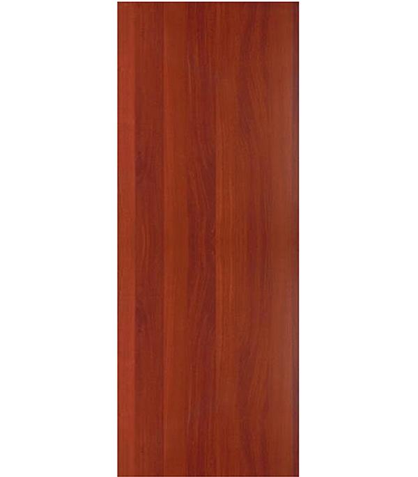 Дверное полотно ламинированное гладкое глухое Итальянский орех 600х2000 мм, без притвора, без фрез
