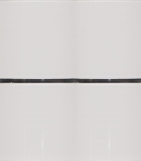 Панель ПВХ рейка двойная хром 250х2900х8,5 мм,Corsa Deco декоративные шумопоглощающие панели для стен