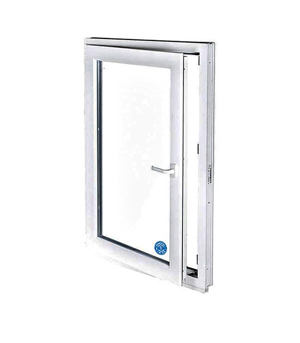 Окно металлопластиковое белое 1200х600 мм 1 створка поворотно-откидное левое