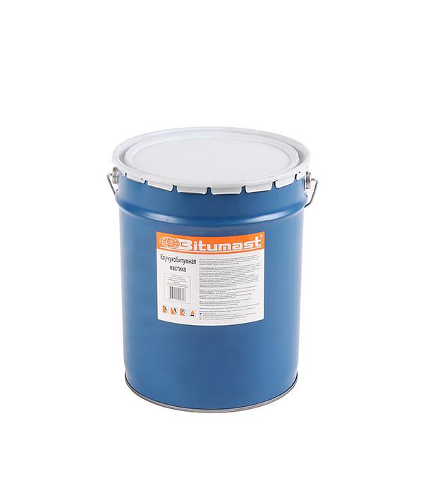 Мастика каучукобитумная Bitumast 18 кг/21.5 л  мастика гидроизоляционная bitumast 18 кг 21 5 л