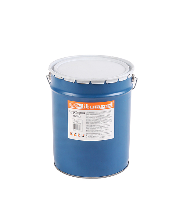 Мастика каучукобитумная Bitumast 18 кг/ 21,5 л