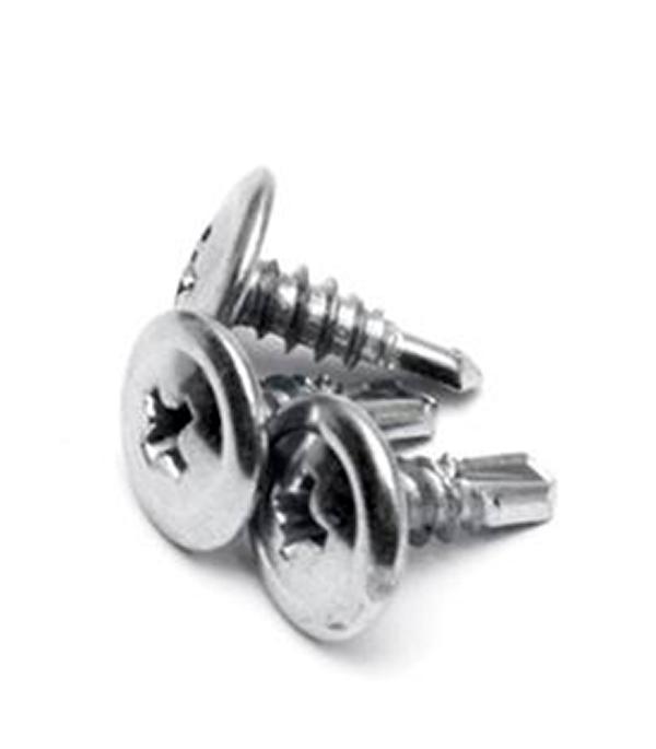Саморезы с прессшайбой 25х4.2 мм с буром (200 шт)