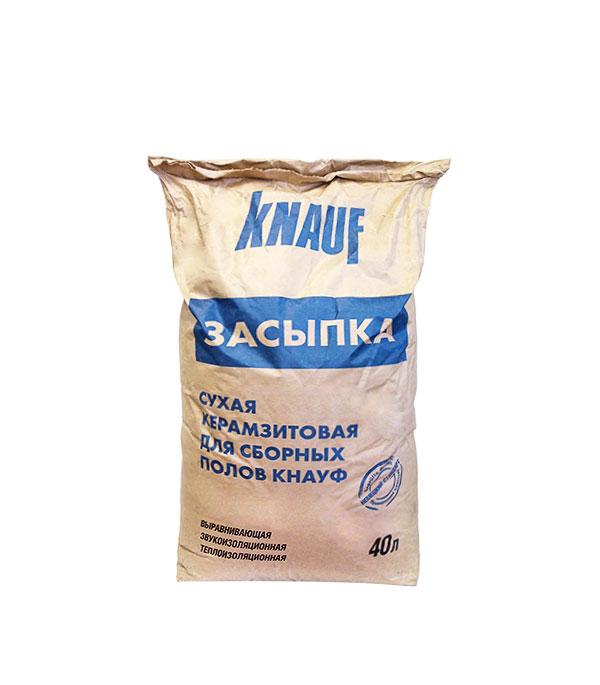 Керамзит фр. 0-5 мм (керамзитовый песок-сухая засыпка) Кнауф, 40 л