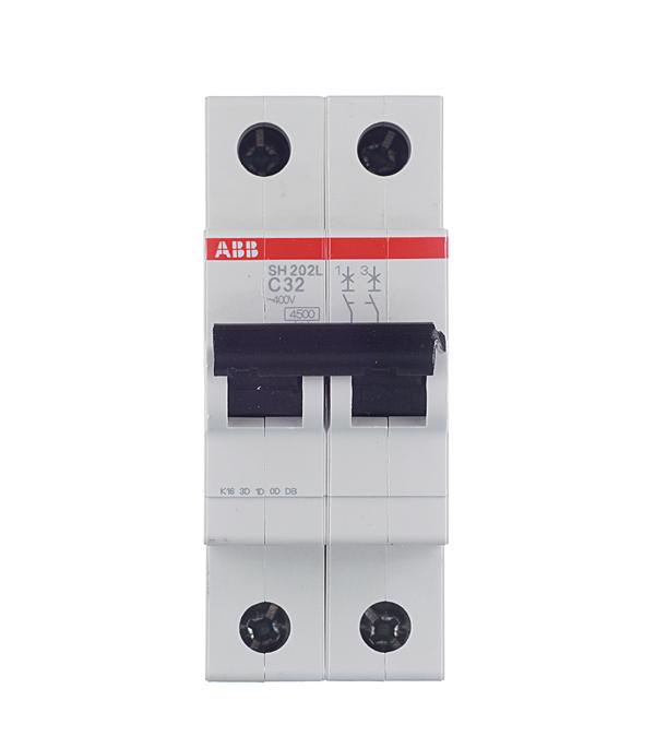 Автомат 2P 32А тип С 4.5 kA АВВ SH200L диф автомат abb dsh941r c25