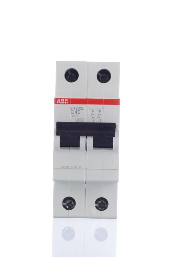 Автомат 2P 40А тип С 4.5 kA ABB SH202L дифференциальный автомат 1p n 16а тип c 30 ма 4 5 ka abb dsh941r