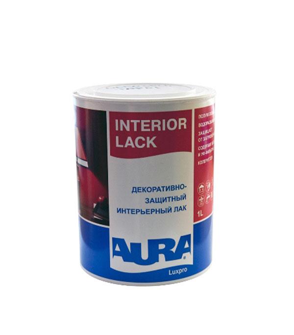 Лак водоразбавляемый Aura Luxpro Interior Lack полуматовый 1 л