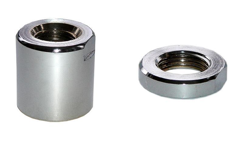 Муфта для полотенцесушителя в комплекте с контргайкой 1