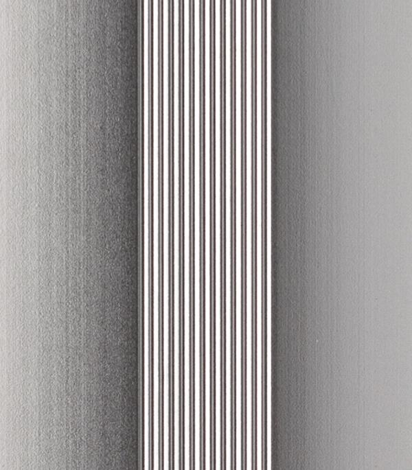 Порог стыкоперекрывающий 38х1800 мм алюминий