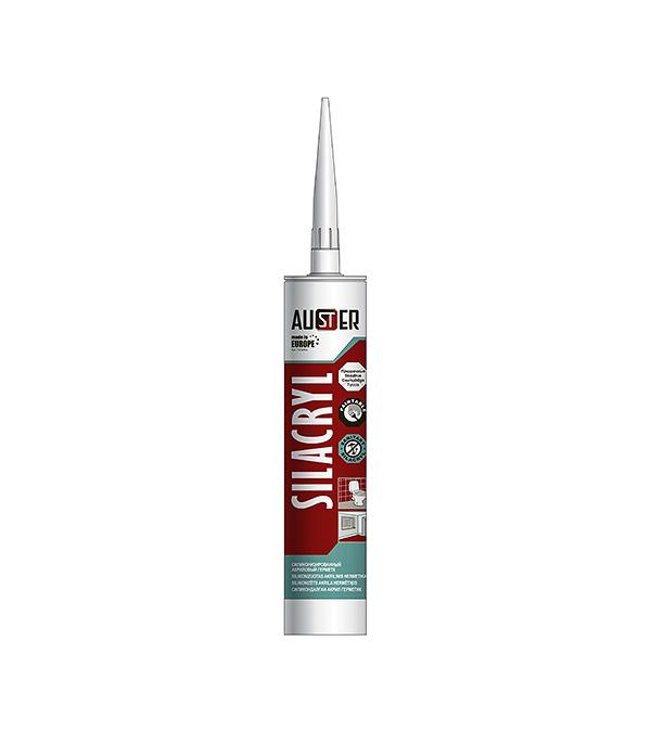 Герметик акрил-силиконовый Auster 280 мл прозрачный