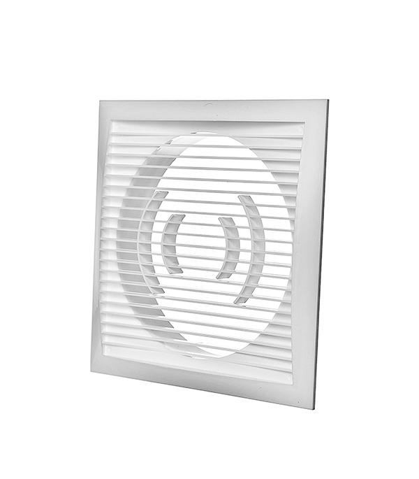 Решетка вентиляционная торцевая 200х200 мм для круглых воздуховодов d160 мм