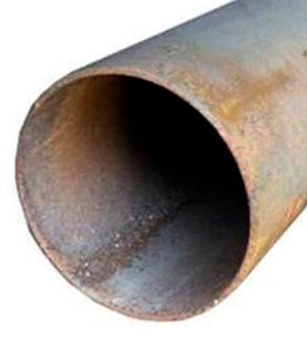 Труба электросварная стальная черная 76х3,5х3000 мм