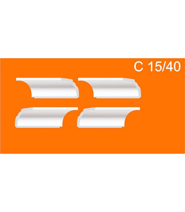Уголки универсальные из пенополистирола С 15/40 Solid (упаковка 4 комп.)