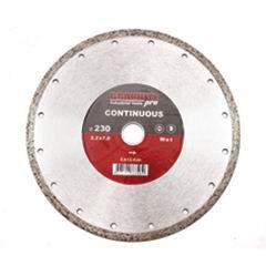 Диск алмазный сплошной по керамике 230х22,2 мм Graphite Pro Стандарт