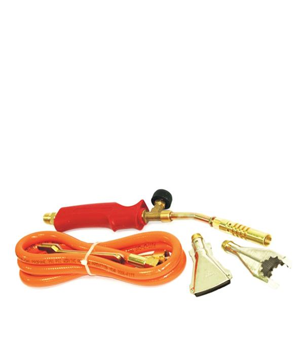 Горелка (комплект для паяния) 3 насадки, 1,5 м шланг Эконом