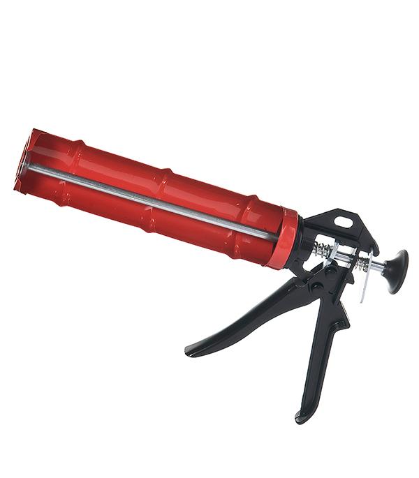 Пистолет для герметика стальной полукорпусной