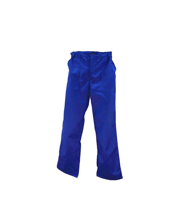 "Брюки светло-синие ""Бригадир"", размер 52-54 (104-108), рост 170-176"