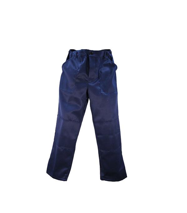 """Брюки темно-синие """"Мастер"""", размер 52-54 (104-108), рост 170-176"""