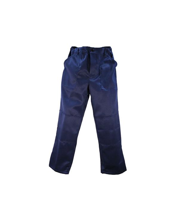 """Брюки темно-синие """"Мастер"""", размер 52-54 (104-108), рост 182-188"""