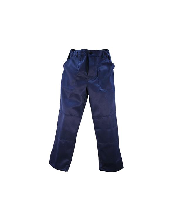 """Брюки темно-синие """"Мастер"""", размер 48-50 (96-100), рост 170-176"""
