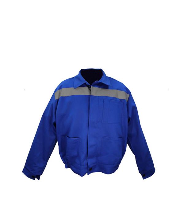 """Куртка светло-синяя """"Бригадир"""", размер 48-50 (96-100), рост 170-176"""