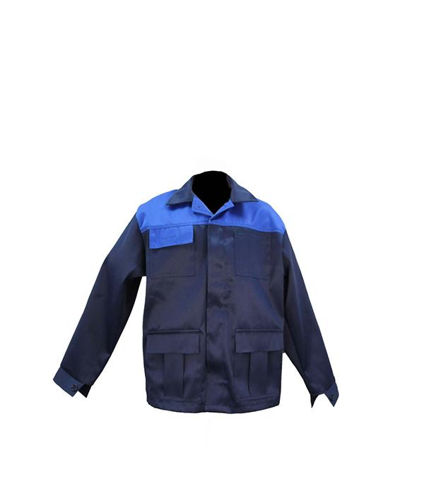 """Куртка темно-синяя """"Мастер"""", размер 52-54 (104-108), рост 170-176"""