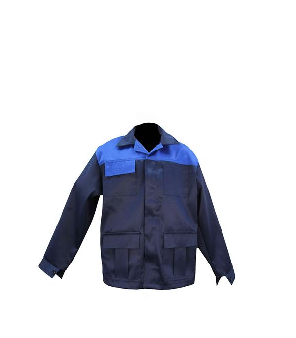 """Куртка темно-синяя """"Мастер"""", размер 52-54 (104-108), рост 182-188"""