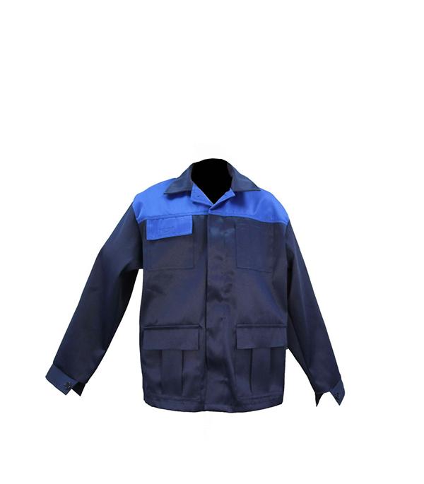 """Куртка темно-синяя """"Мастер"""", размер 48-50 (96-100), рост 170-176"""