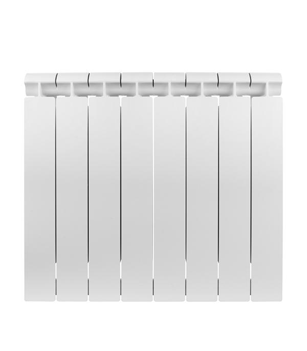 Радиатор биметаллический 1 Global Style Extra 500,  8 секций радиатор отопления global алюминиевые vox r 500 12 секций