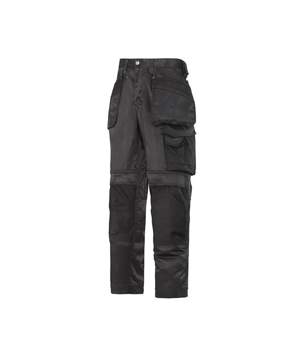 Брюки черные, размер 52, рост 170-182 Snickers workwear Профи