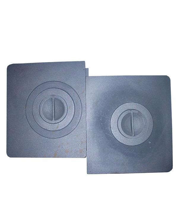 Плита в сборе двухкомфорочная П2-3, 710х410 мм