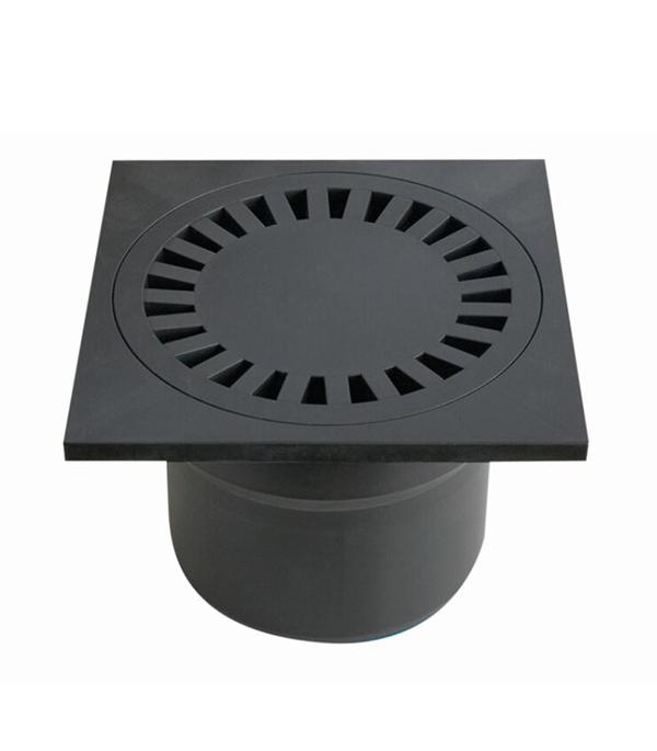 Трап прямой пластиковый 150х150, 110 мм (гидрозатвор) Haco