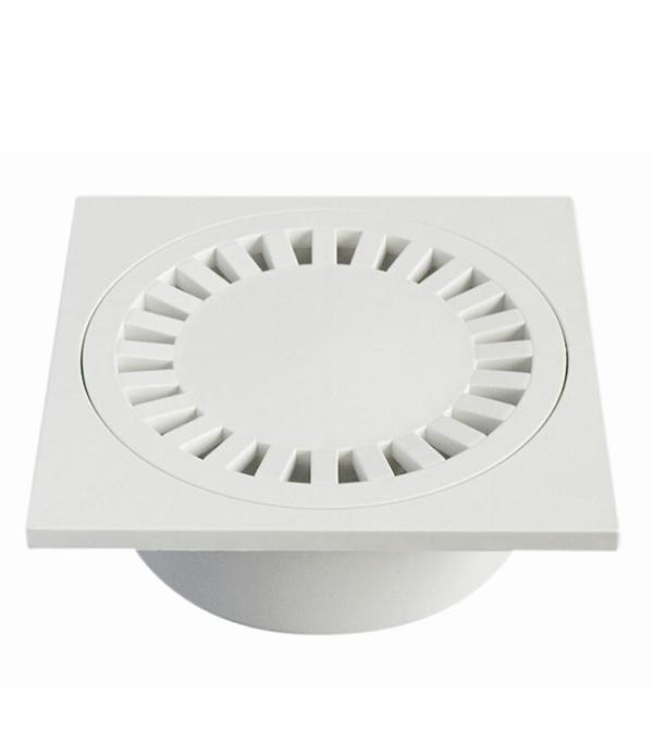 Трап прямой пластиковый 150х150, 50 мм (гидрозатвор) Haco