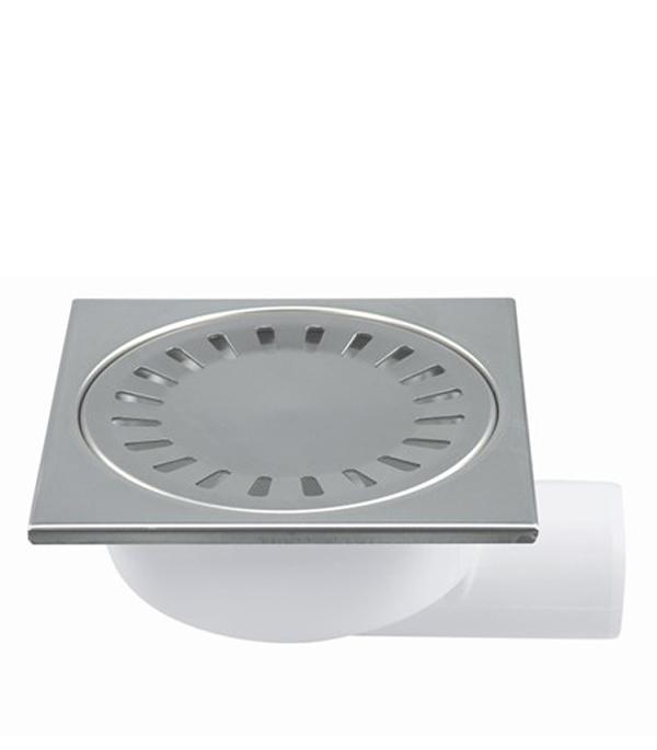 Трап угловой решетка сталь 150х150, 50 мм (гидрозатвор) Haco