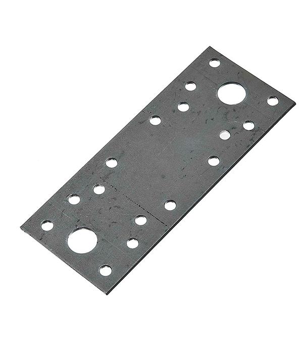 Пластина крепежная оцинкованная 130х53х2 мм пластина крепежная masterprof 130х53х2мм уп 12 шт