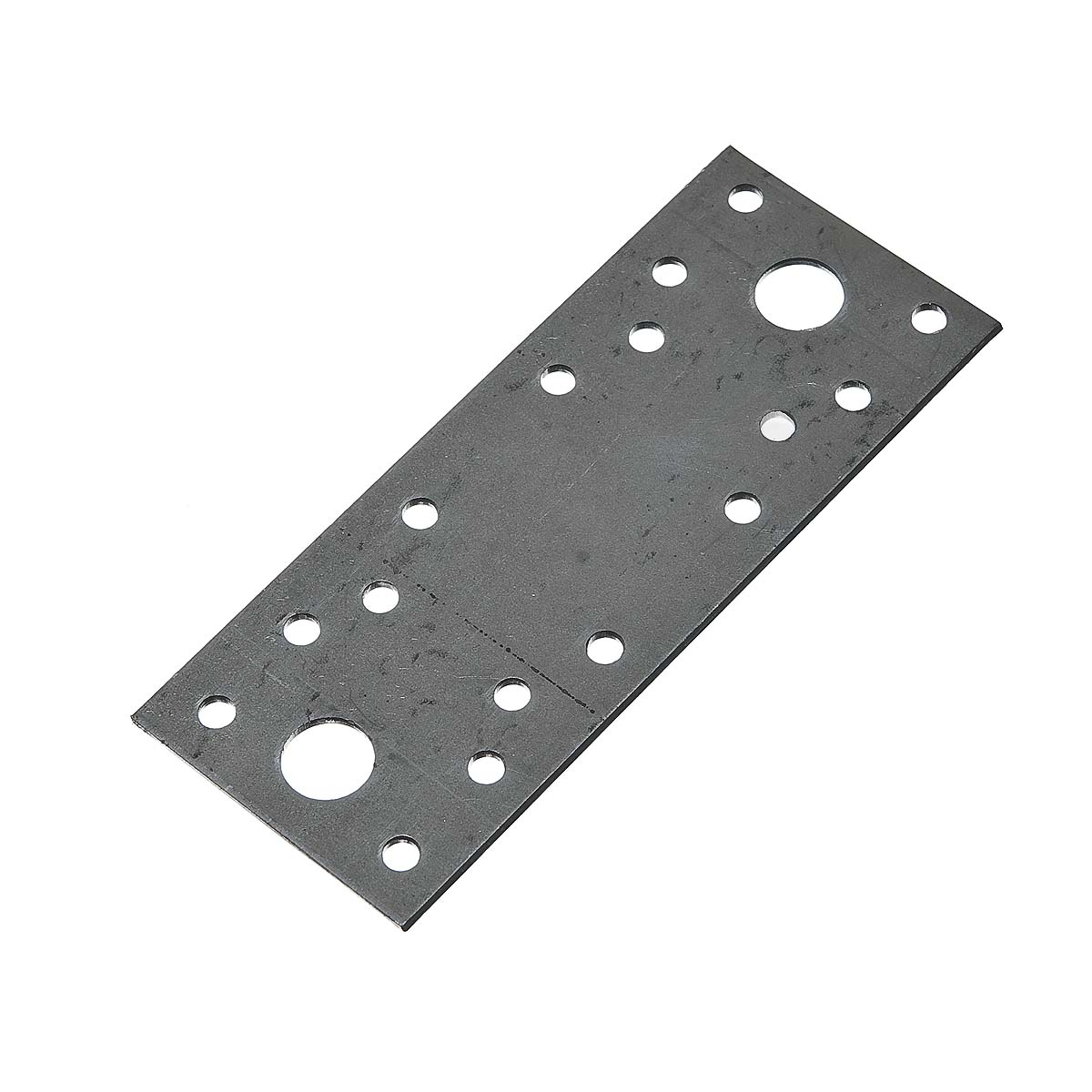Пластина крепежная оцинкованная 130х53х2 мм