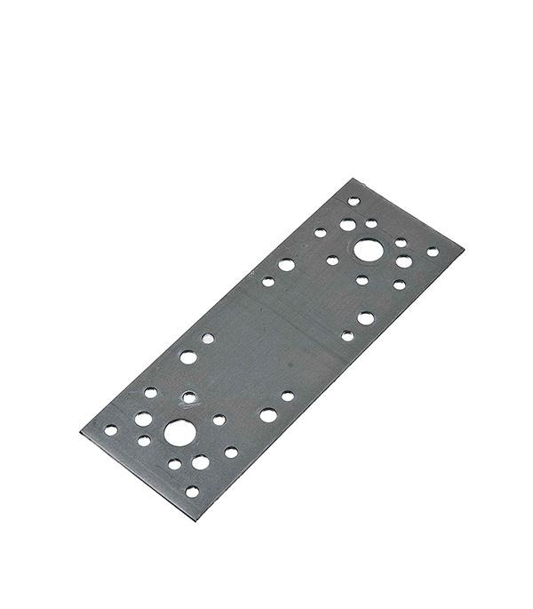 Пластина крепежная оцинкованная 180х65х2 мм пластина крепежная masterprof 130х53х2мм уп 12 шт