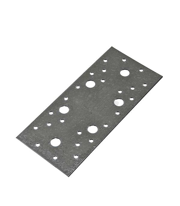 Пластина крепежная оцинкованная 200х90х2 мм пластина крепежная masterprof 130х53х2мм уп 12 шт