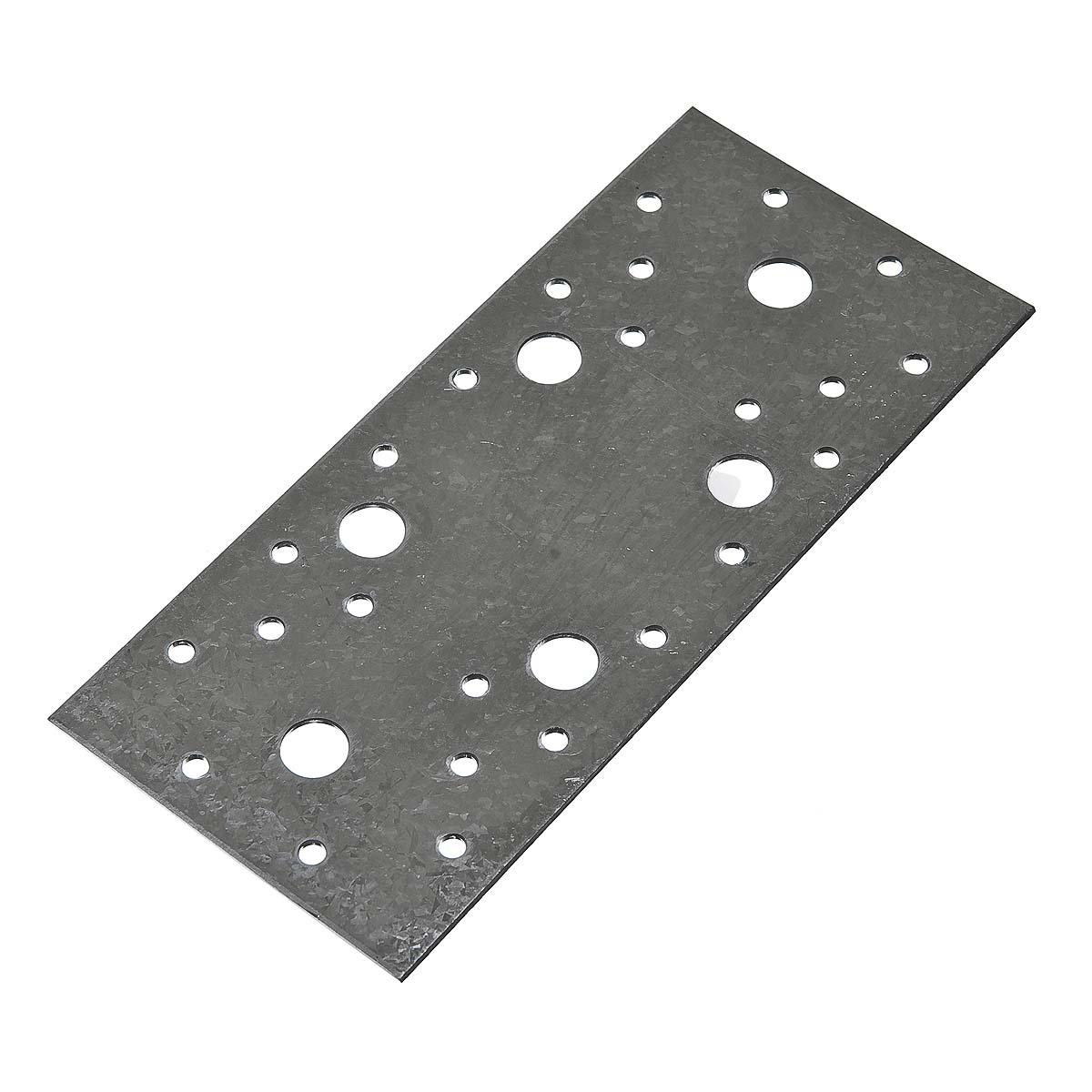 Пластина крепежная оцинкованная 200х90х2 мм