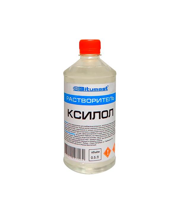 Растворитель Bitumast ксилол 0.4 кг/0.5 л гидроизоляция акриловая bitumast 7 кг