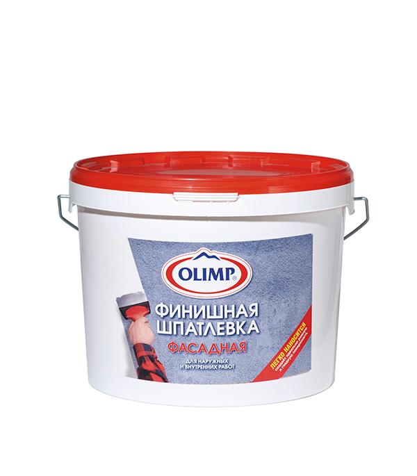 Шпатлевка финишная фасадная OLIMP 16 кг