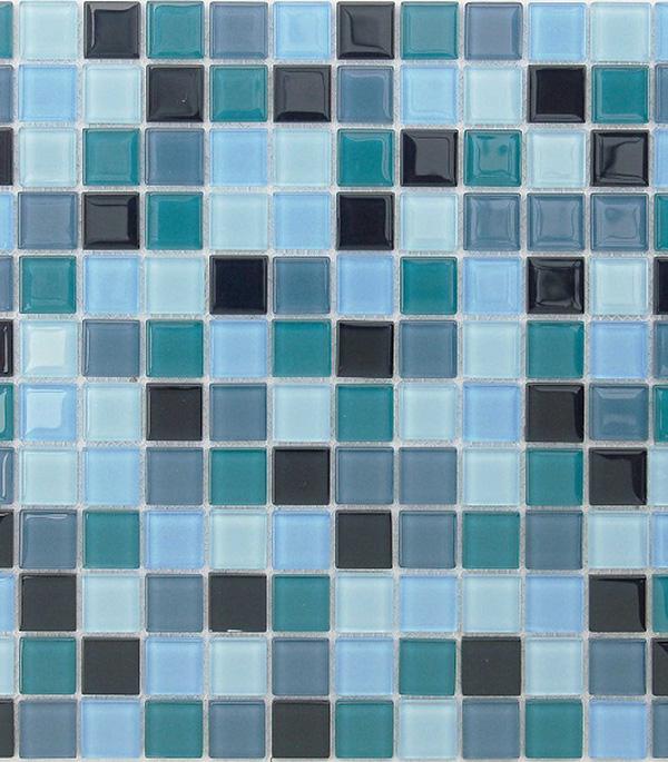 цена на Мозаика стеклянная 298x298х4 мм Delphinium/Карамелле