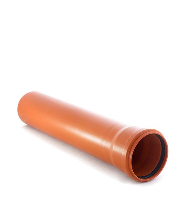 Труба канализационная наружная 160х1000 мм муфта труба труба d 16 gig