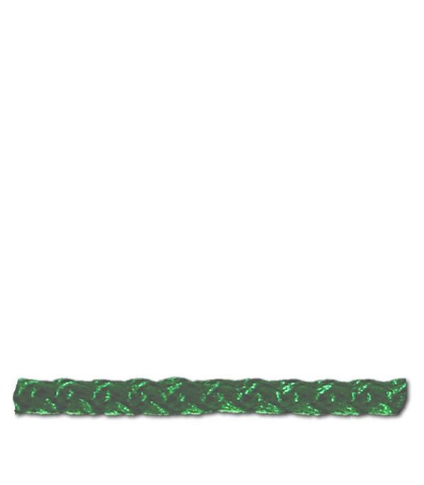 Шнур плетеный зеленый d3 мм полипропиленовый
