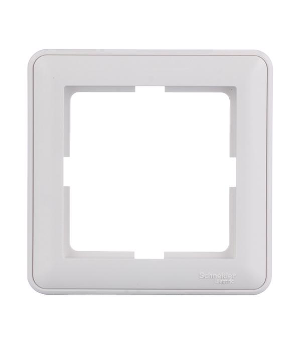 Рамка одноместная Schneider Electric Wessen59 белая