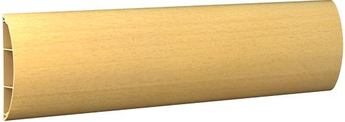 Наличник ПВХ с кабель-каналом 70х14х2200 мм миланский орех