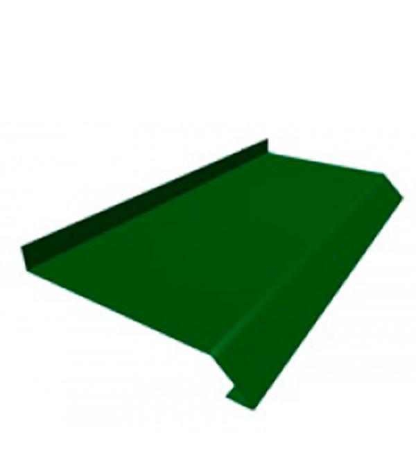 Отлив зеленый  90х2000 мм RAL6005