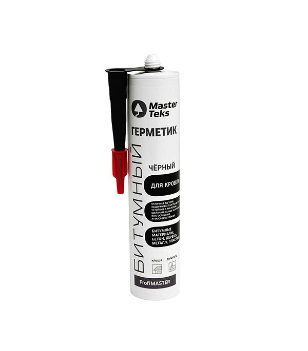 Герметик кровельный MasterTeks B 260 мл черный черкасская область смела кровельный материал