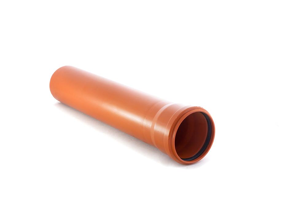 Труба канализационная наружная 110х3000 мм