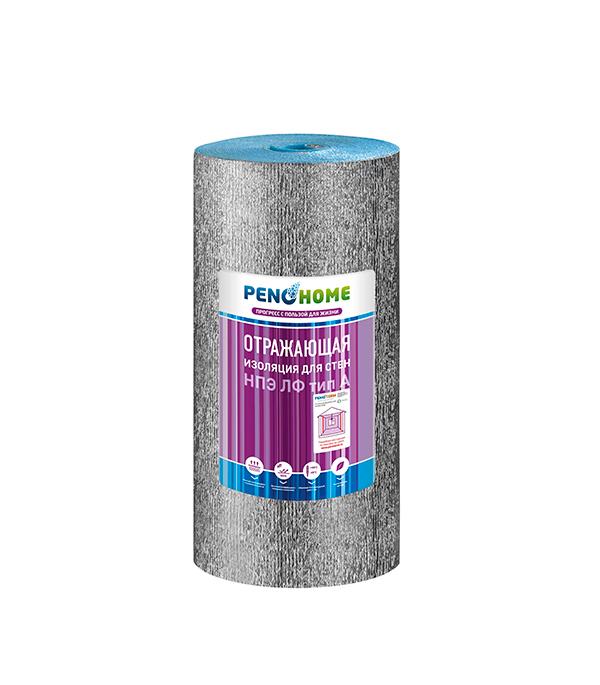 Теплоизоляция для стен НПЭ ЛФ тип А  3 мм (1,2x25 м) Порилекс