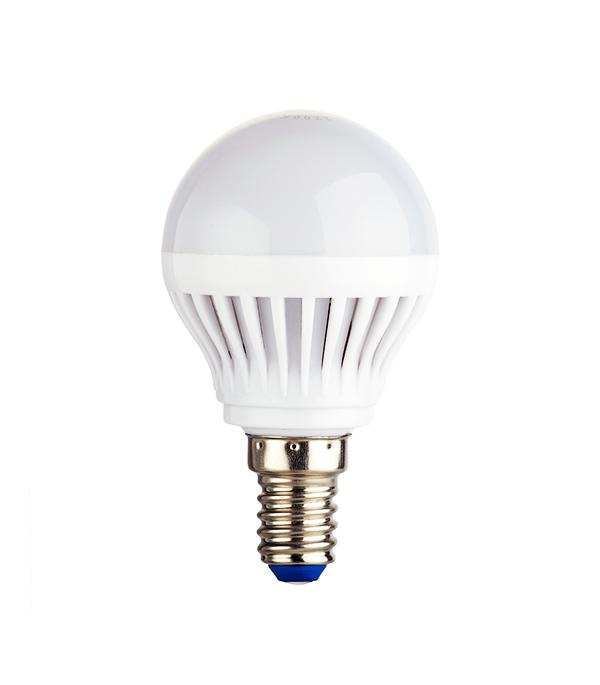Лампа светодиодная E14 5W G45 4000K, дневной свет, REV лампочка rev led g45 e14 9w 4000k холодный свет 32407 2